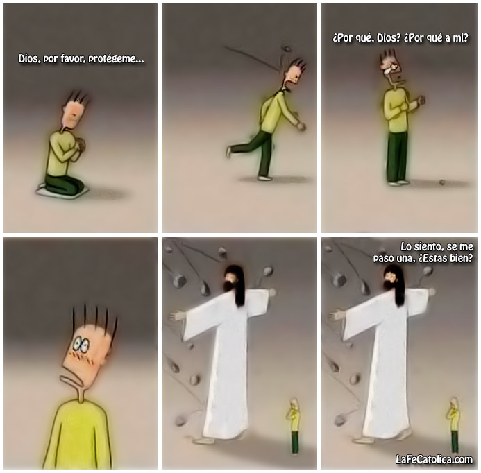 Dios, por favor, Protégeme