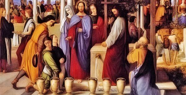 Matrimonio En La Biblia Catolica : Jesús y la virgen maría en las bodas de caná fe católica