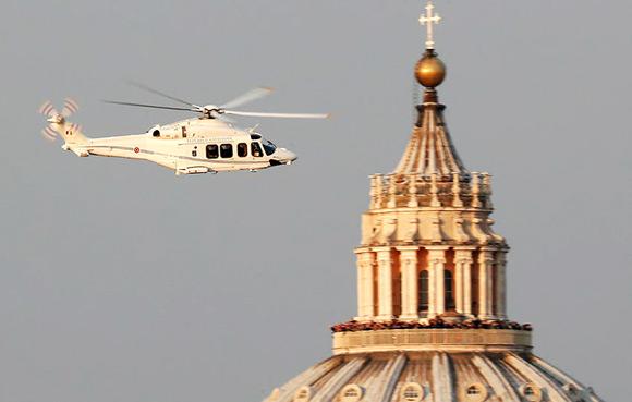 Helicoptero Benedicto XVI