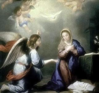 La Anunciación del Ángel a María